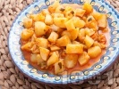 Рецепта Постна зеленчукова картофена яхния